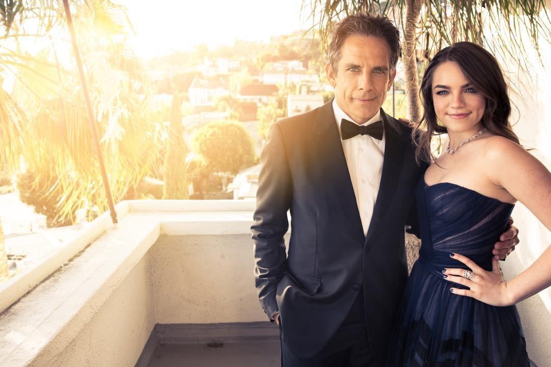 Ben Stiller e a filha Ella  (Foto: Reprodução/Instagram)