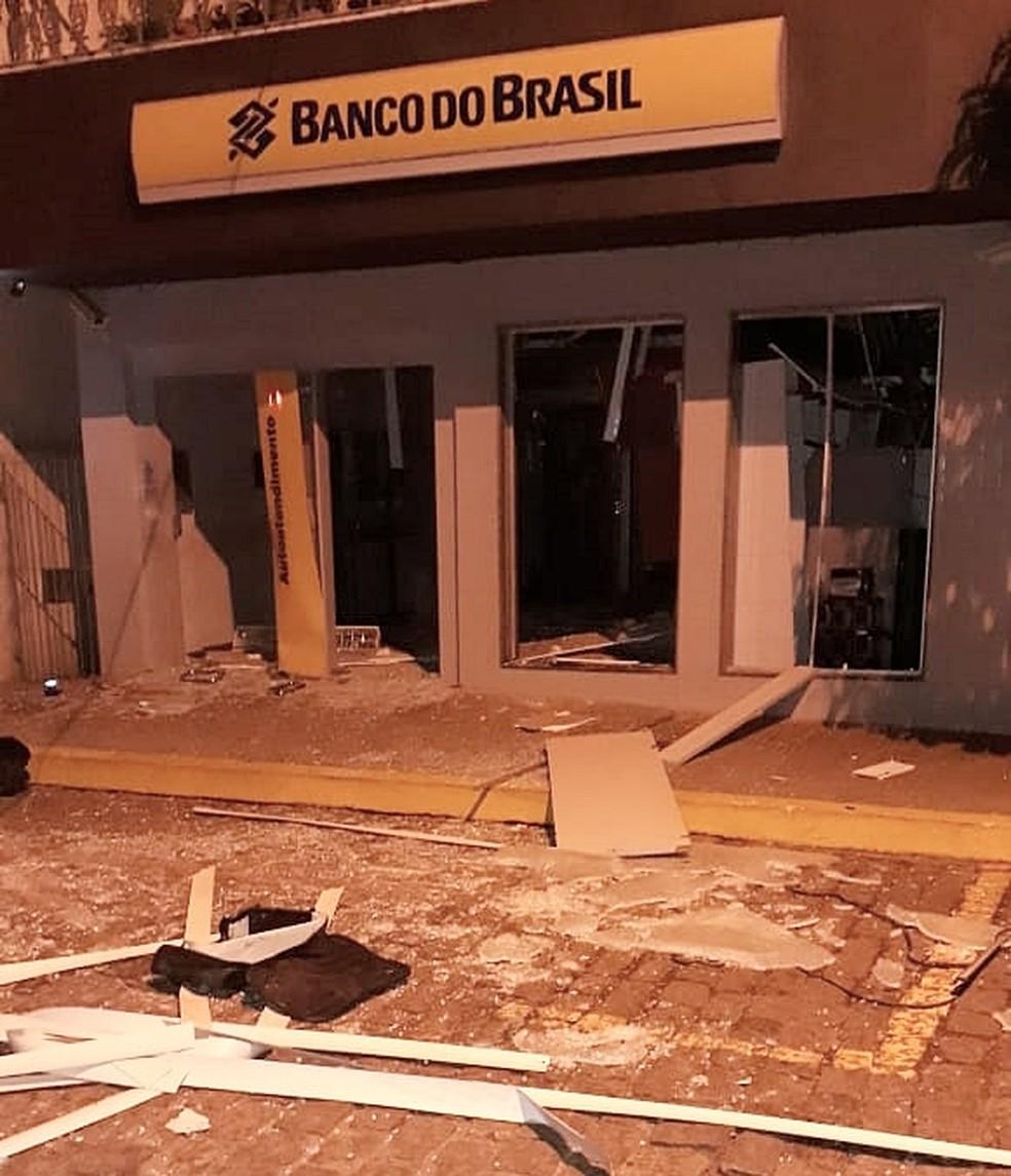 Criminoso morreu em ataque a banco em Campo do Meio (MG) (Foto: Reprodução/Redes Sociais)