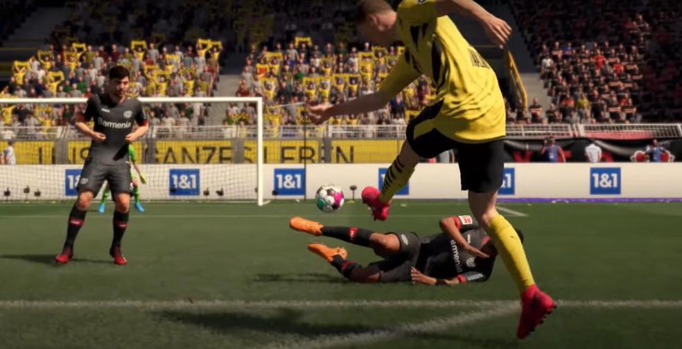 Os oponentes da inteligência artificial ganharam melhorias para o Modo Carreira de FIFA 21 — Foto: Reprodução/EA Sports Fifa