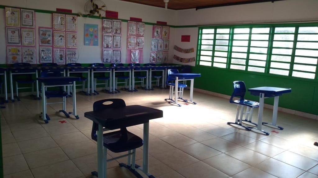 Covid-19: aulas presenciais retornam de forma gradativa na rede municipal de ensino em Araguari