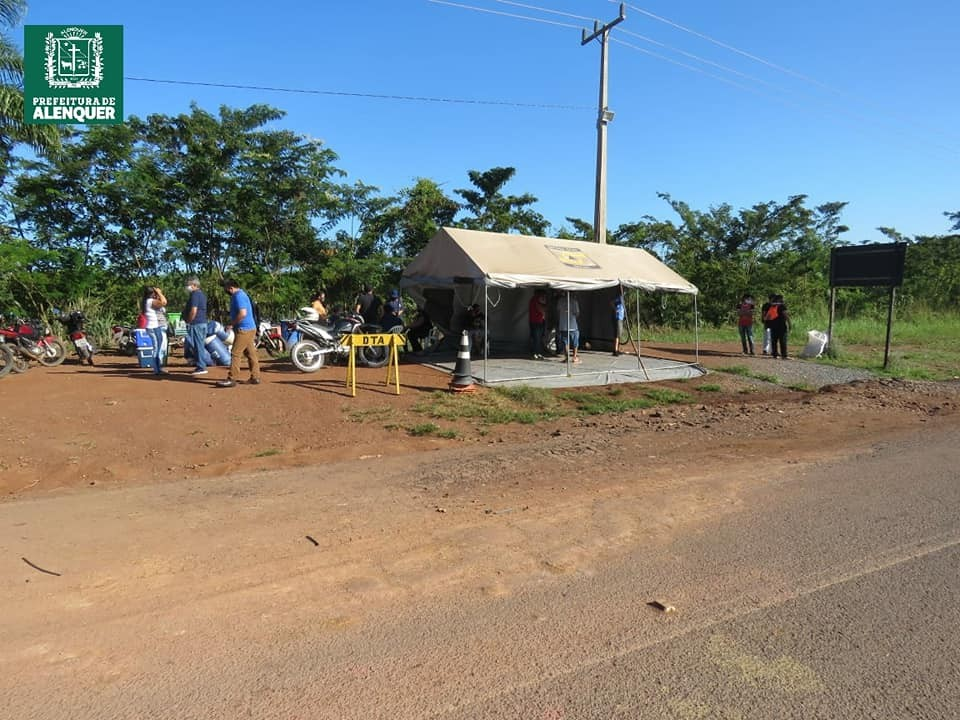 Barreiras sanitárias de combate à Covid-19 têm atividades encerradas em Alenquer