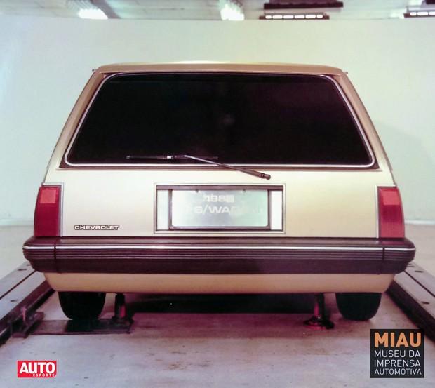 A perua Monza que a GM quase fabricou no Brasil (Foto:   MIAU Museu da Imprensa Automotiva)