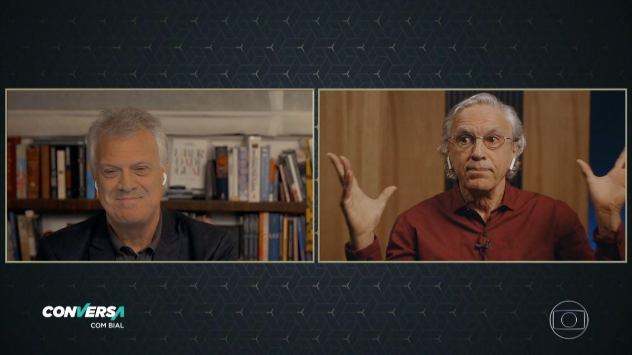 Caetano Veloso fala sobre o momento politico atual no Brasil e no mundo