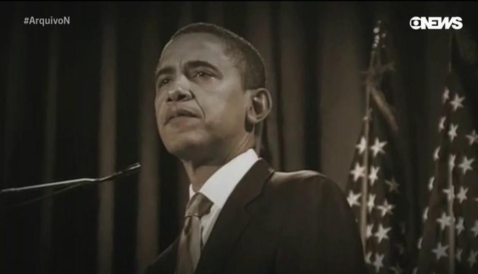 Barack Obama — Foto: Reprodução / GloboNews