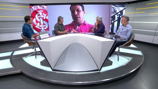 """Gaciba, sobre polêmica em Inter x Santos: """"Retrata o momento da arbitragem brasileira"""""""