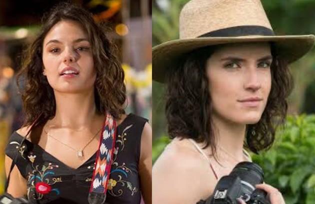 Isis Valverde viveu Antonia, a jovem que se envolve com o protagonista. Na adaptação, a personagem se chama Andrea e é interpretada pela colombiana Laura Perico (Foto: TV Globo - Divulgação)
