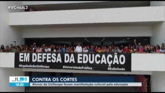 Atos em defesa da educação são realizados na UFPA, em Belém, e na Unifesspa, em Marabá