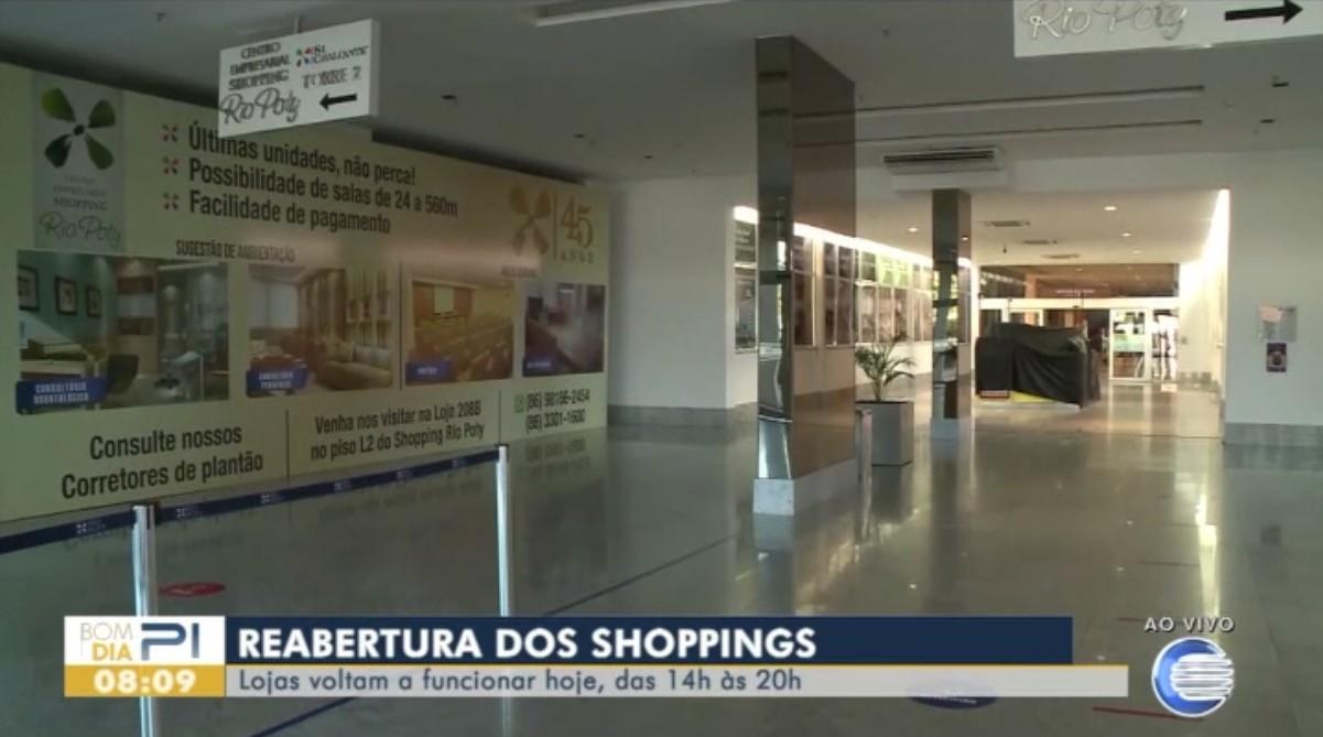 Shoppings reabrem nesta terça-feira (4) em Teresina; confira regras de funcionamento