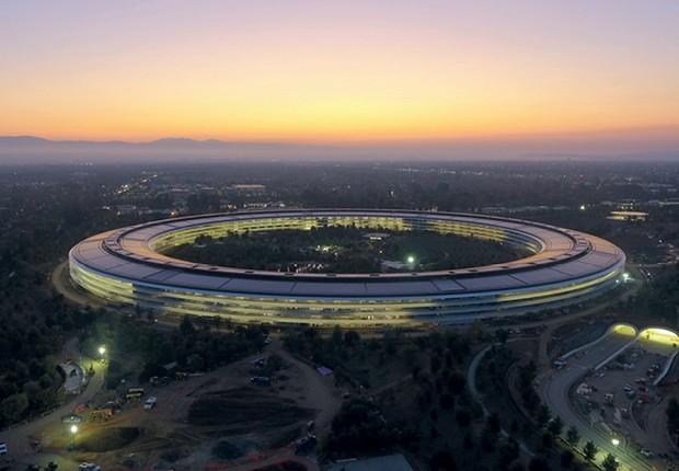 Os megaescritórios: conheça a sede da Apple - Época NEGÓCIOS