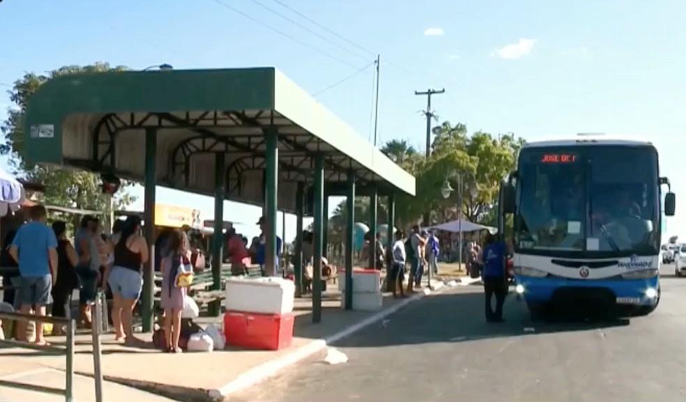Milhares de usuários são afetados com suspensão de transporte intermunicipal no Piauí — Foto: Reprodução/TV Clube