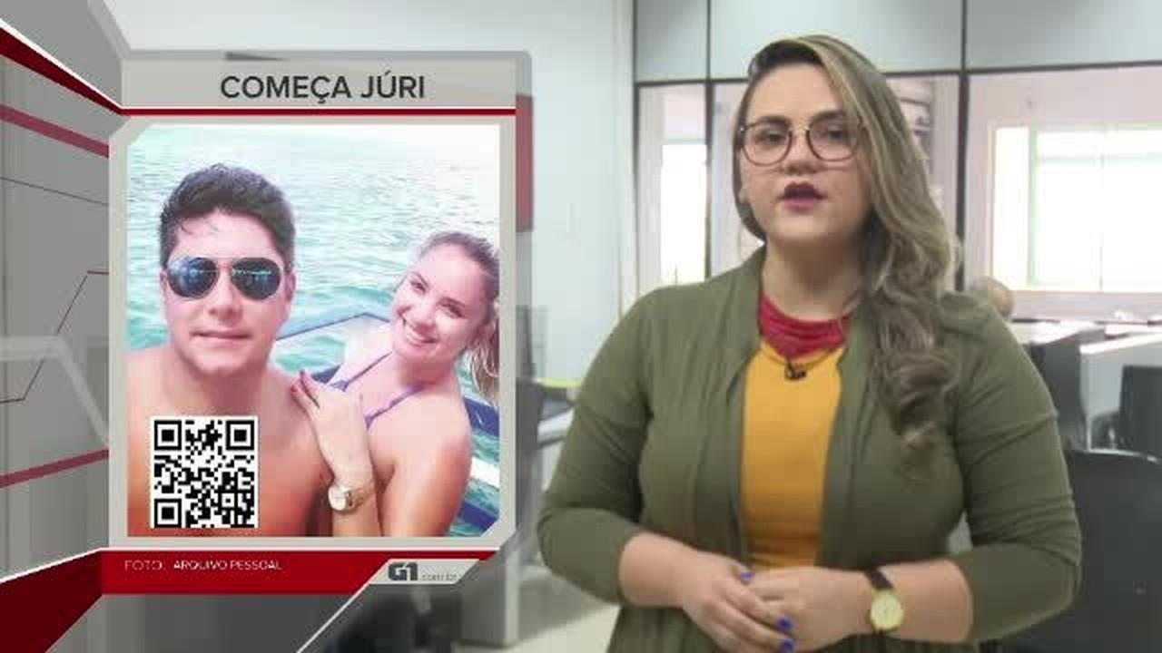 G1 em 1 minuto - AC: Começa júri popular de policial penal que matou companheira