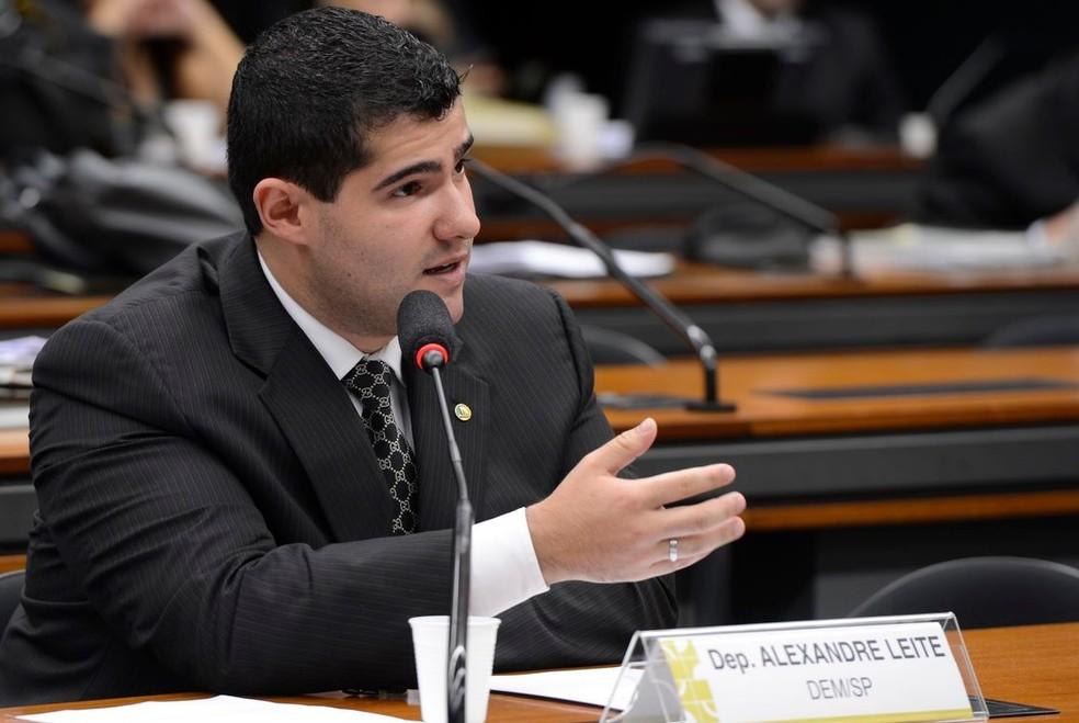 Deputado Alexandre Leite (DEM-SP), relator do processo de Flordelis no Conselho de Ética — Foto: Valter Campanato/Agência Brasil