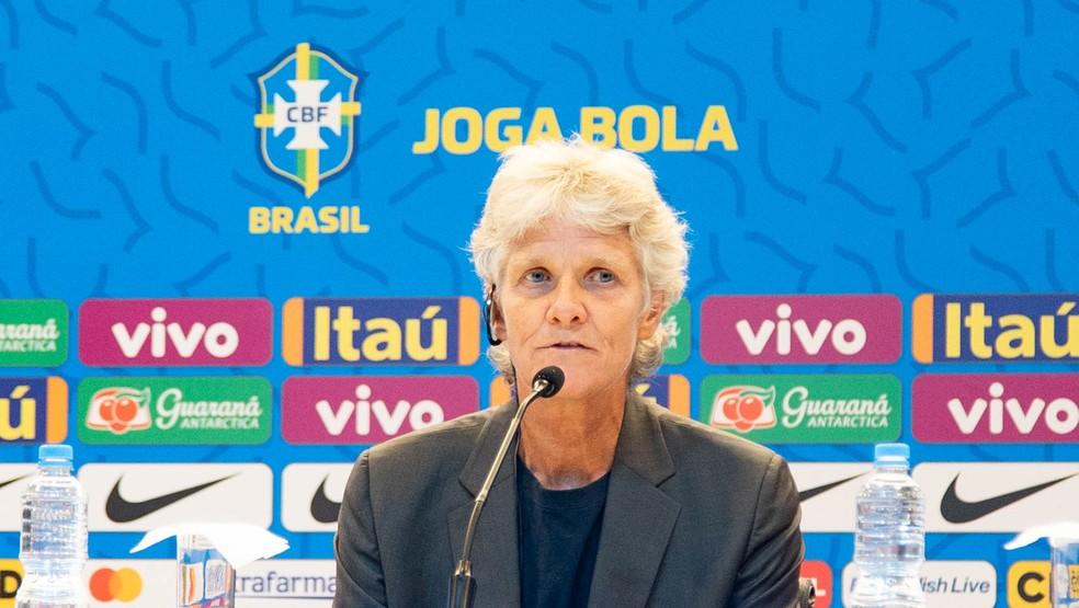 Pia convoca a seleção brasileira feminina — Foto: Bruno Egger / MoWA Press