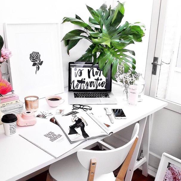 Home office (Foto: Instagram/Reprodução)