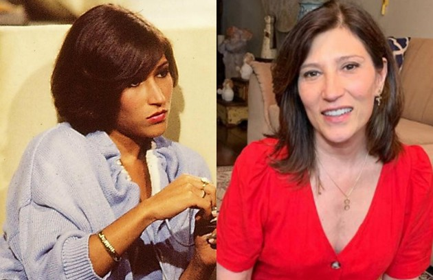 Beth Goulart foi Cíntia, filha de Aristides Vilhena (Walmor Chagas). A atriz esteve no elenco de 'Jesus' (Foto: TV Globo  / Reprodução)