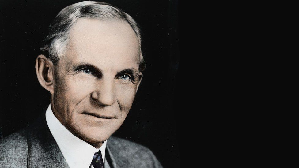 Henry Ford (1863-1947) revolucionou a indústria automotiva (Foto: Getty Images/BBC)