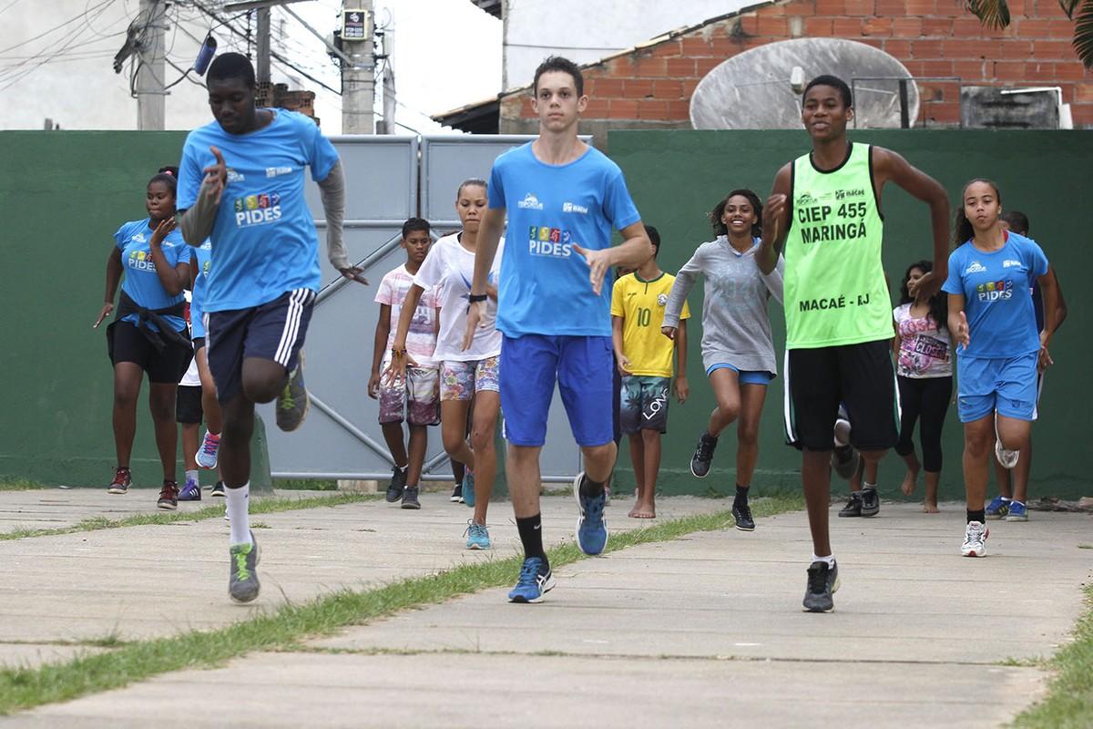 Projeto de atletismo está com vagas abertas em Macaé, no RJ