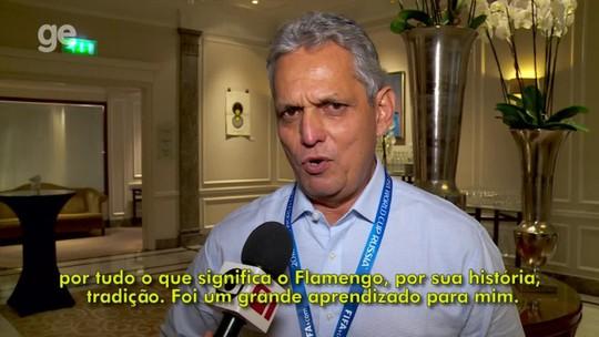 """Rueda fala em gratidão eterna ao Fla e, apesar dos problemas, vê clube """"no caminho certo"""""""