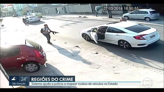 ISP mapeia roubos de carro no RJ e aponta Avenida Brasil como via mais perigosa