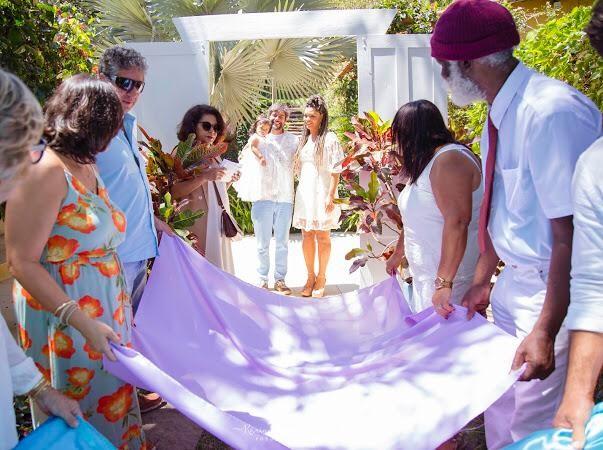 Juliana Alves celebra batizado da filha, Yolanda (Foto: Karina Martini)