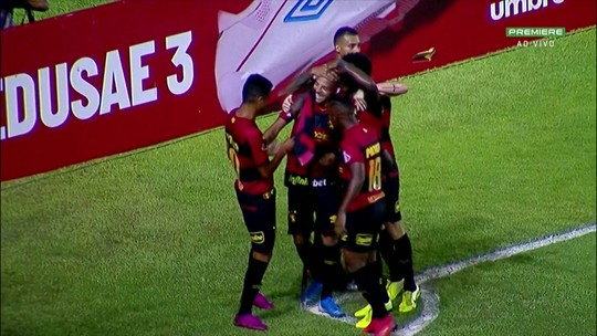 Sport 1 x 0 Criciúma: assista aos melhores momentos da partida