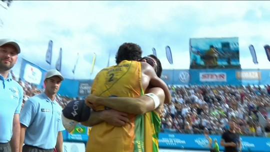 Pedro e Guto superam vice-campeões olímpicos e conquistam ouro em Porec