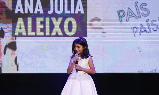 Ana Júlia, premiada na categoria País