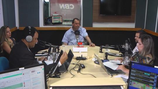 Na CBN, Omar Aziz diz que mentira envolveu nome dele na 'Maus Caminhos', e promete resolver segurança no Amazonas