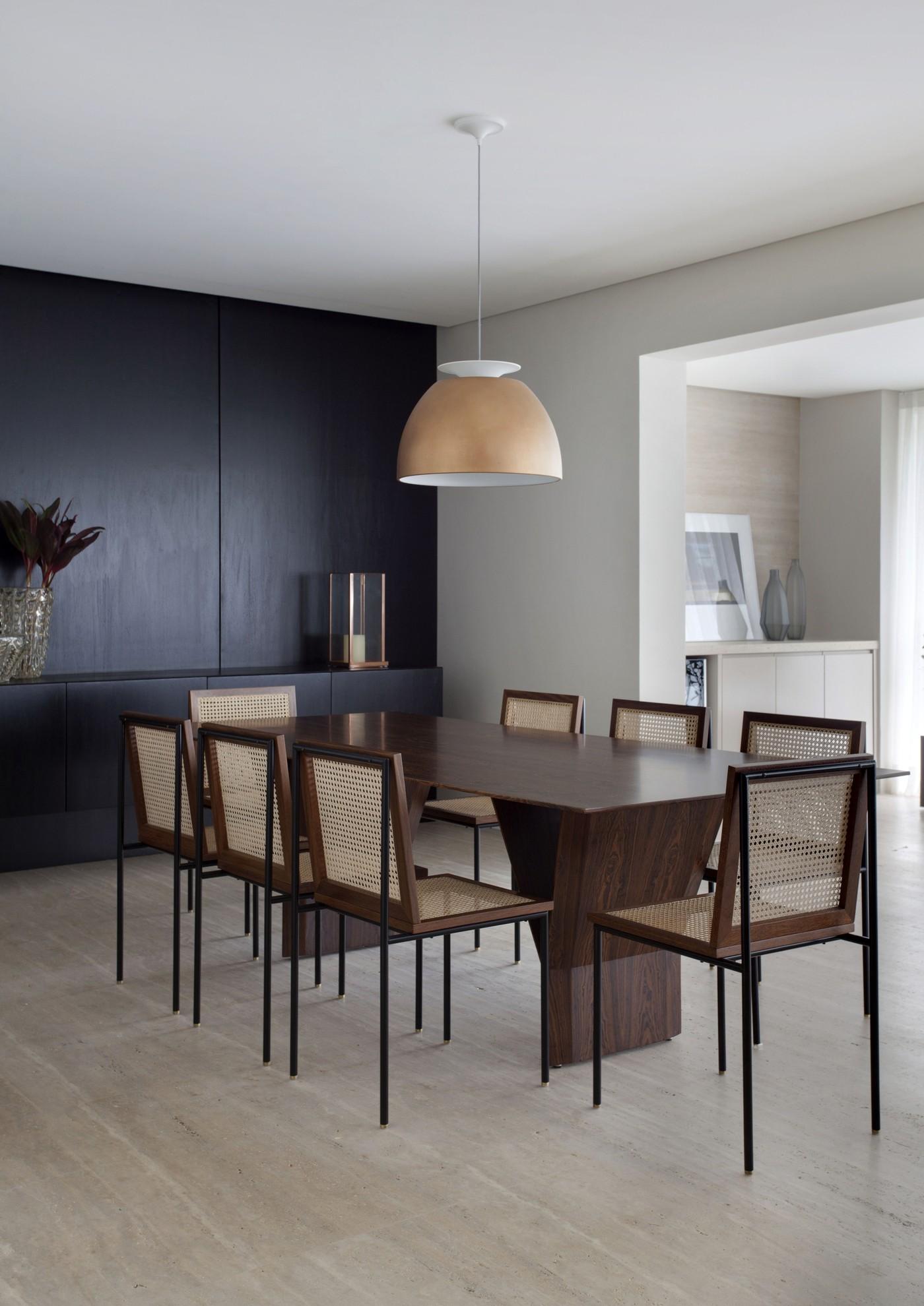 Image of: Decor Do Dia Sala De Jantar Com Buffet E Cadeira De Palhinha Blog Decordiario
