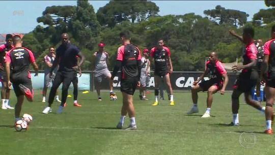 Atlético-PR se prepara para a grande final da Copa Sul-Americana