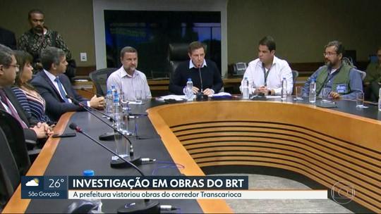 Prefeitura do Rio apura suspeita de irregularidade na obra do BRT Transcarioca