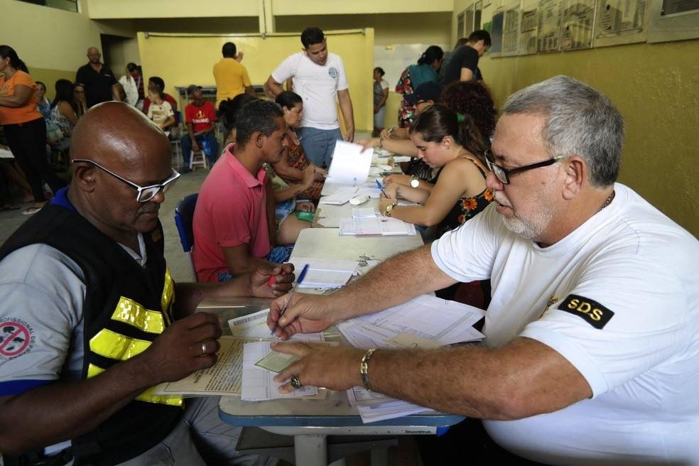 Durante a ação, é possível emitir segunda via de certidões de nascimento, casamento e óbito (Foto: Angélica Renepont/Divulgação)