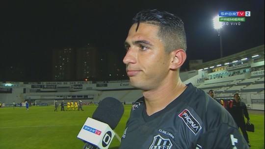 """Danilo desabafa sobre chances perdidas pela Ponte e detona árbitro: """"Jogo de b..."""""""