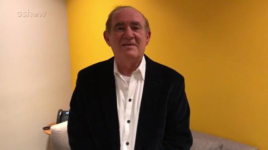 Renato Aragão agradece homenagem recebida no 'Conversa com Bial'