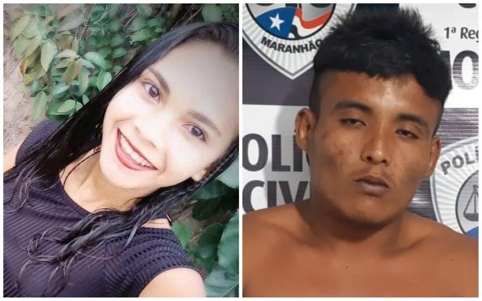 Exames de DNA apontaram que Tadeu Santos Diniz estuprou e matou a adolescente Maria Francisca Dutra Diniz, de 17 anos. — Foto: Divulgação/Polícia Civil