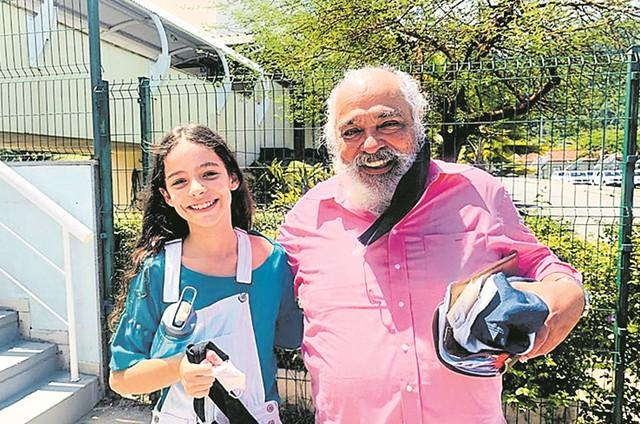 Roberto Bomfim e Bruna Perdigão (Foto: Arquivo pessoal)