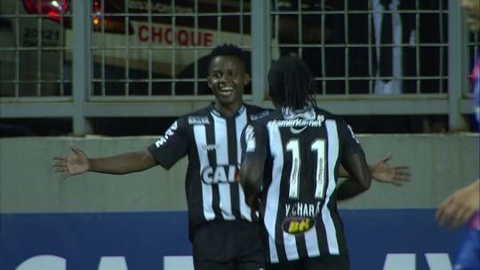 """Cazares tem números expressivos no Atlético-MG e liga """"turbo"""" com confiança e diálogo de Levir"""