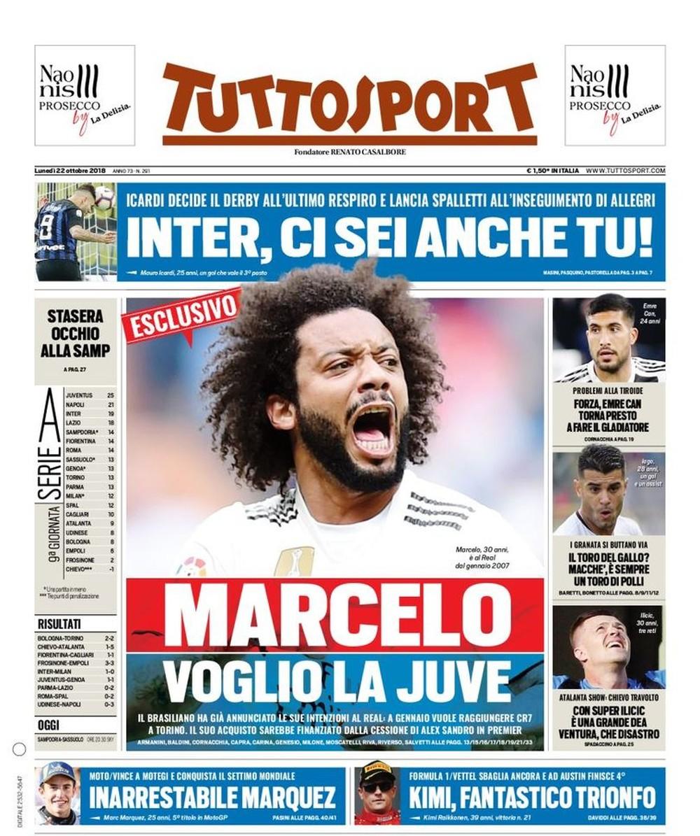 Marcelo diz ao Real que quer ir para a Juve, e transferência deve acontecer em janeiro