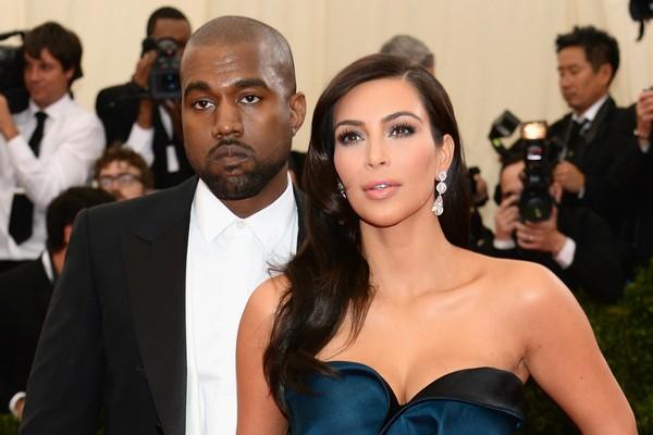 Kim e Kanye: o casal (ainda) não casado mais badalado do momento. (Foto: Getty Images)