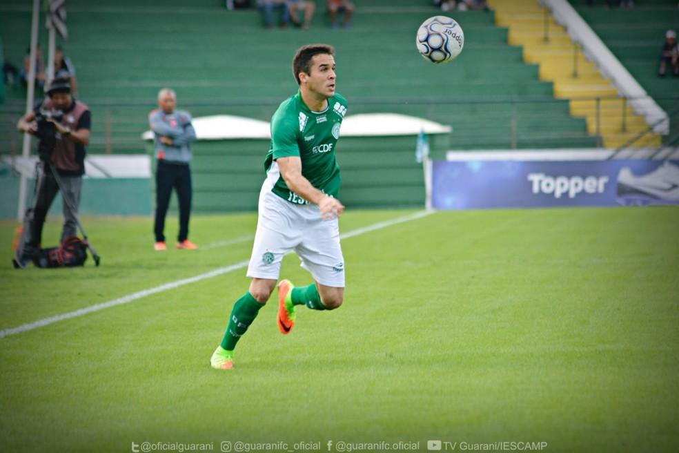 Lenon está a caminho do Vasco para a sequência da temporada (Foto: Letícia Martins / Guarani Press)