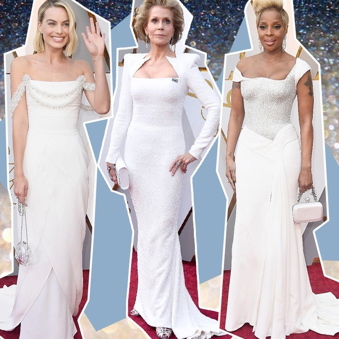 Margot Robbie, Jane Fonda e Mary J. Blige (Foto: Getty Images)