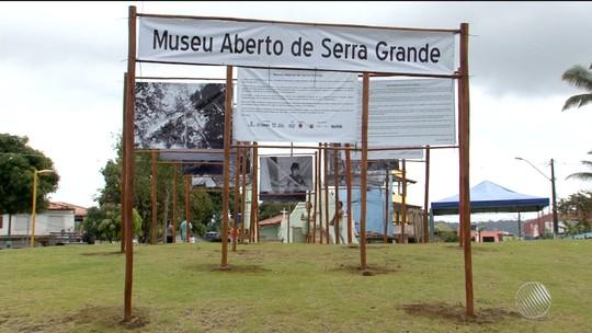 Museu aberto é inaugurado com exposição fotográfica em Serra Grande, no sul da Bahia