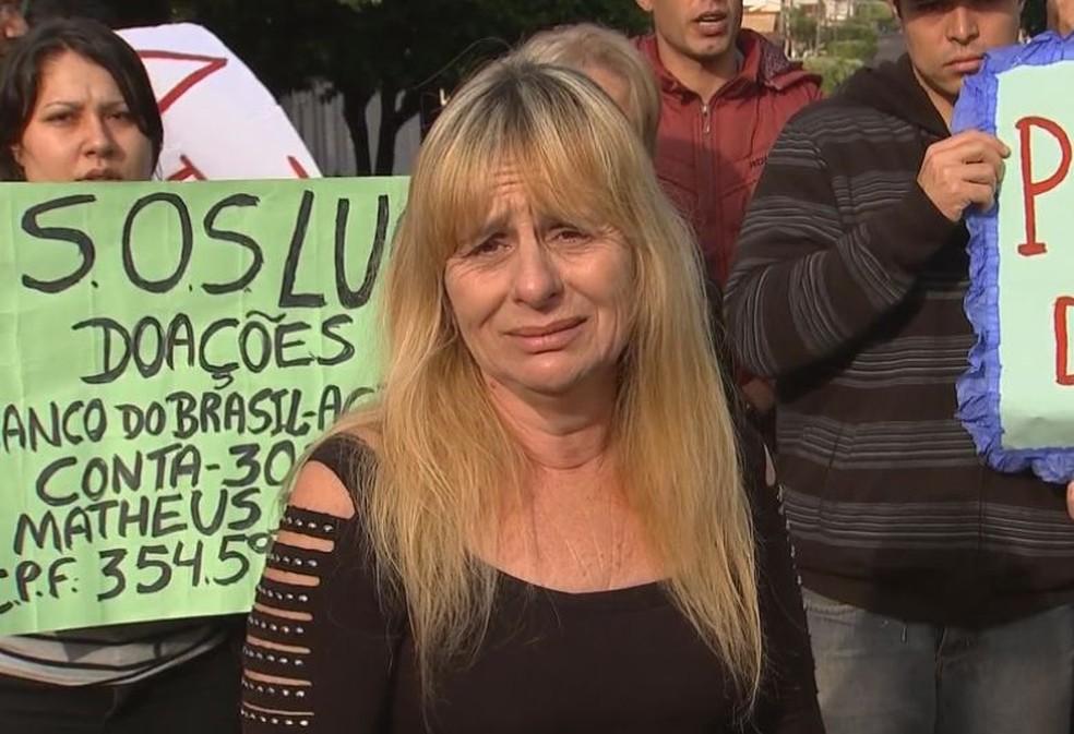 Mãe de intercambista que teve AVC na Colômbia tenta trazer filho de volta para terminar tratamento no país (Foto: Reprodução / TV TEM)