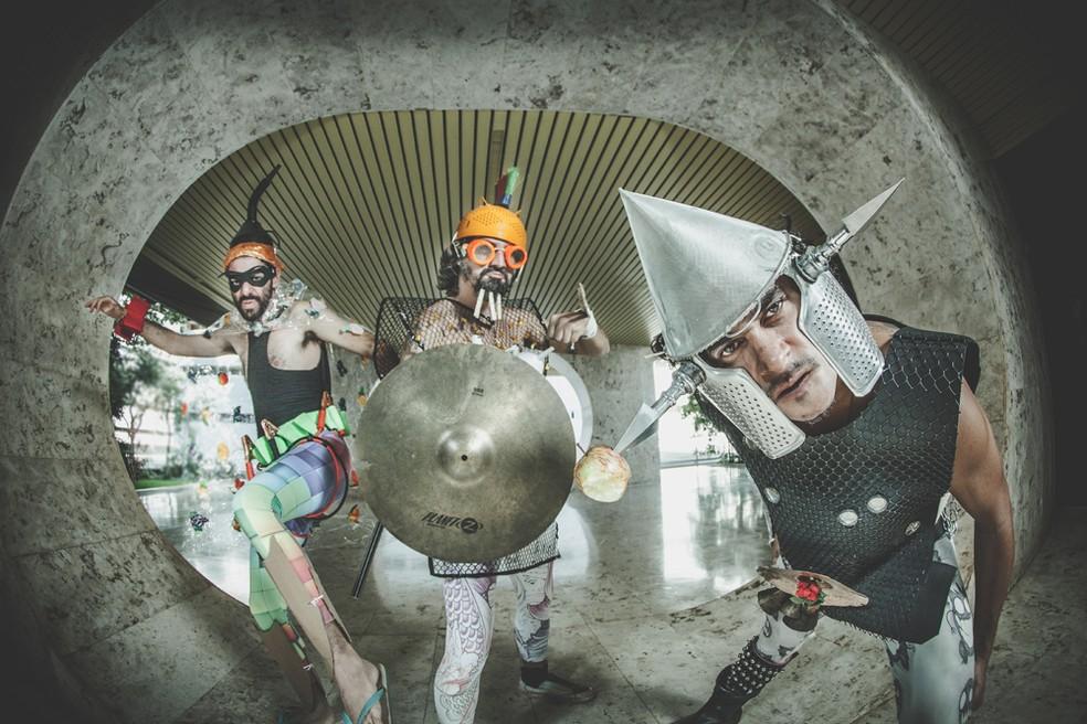 Grupo brasiliense Muntchako vai tocar na 1ª edição do Concha Instrumental — Foto: Ferreira Maia/Divulgação