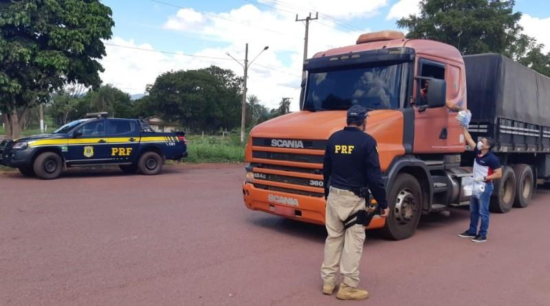 PRF vai distribuir alimentos e produtos de higiene a caminhoneiros durante pandemia