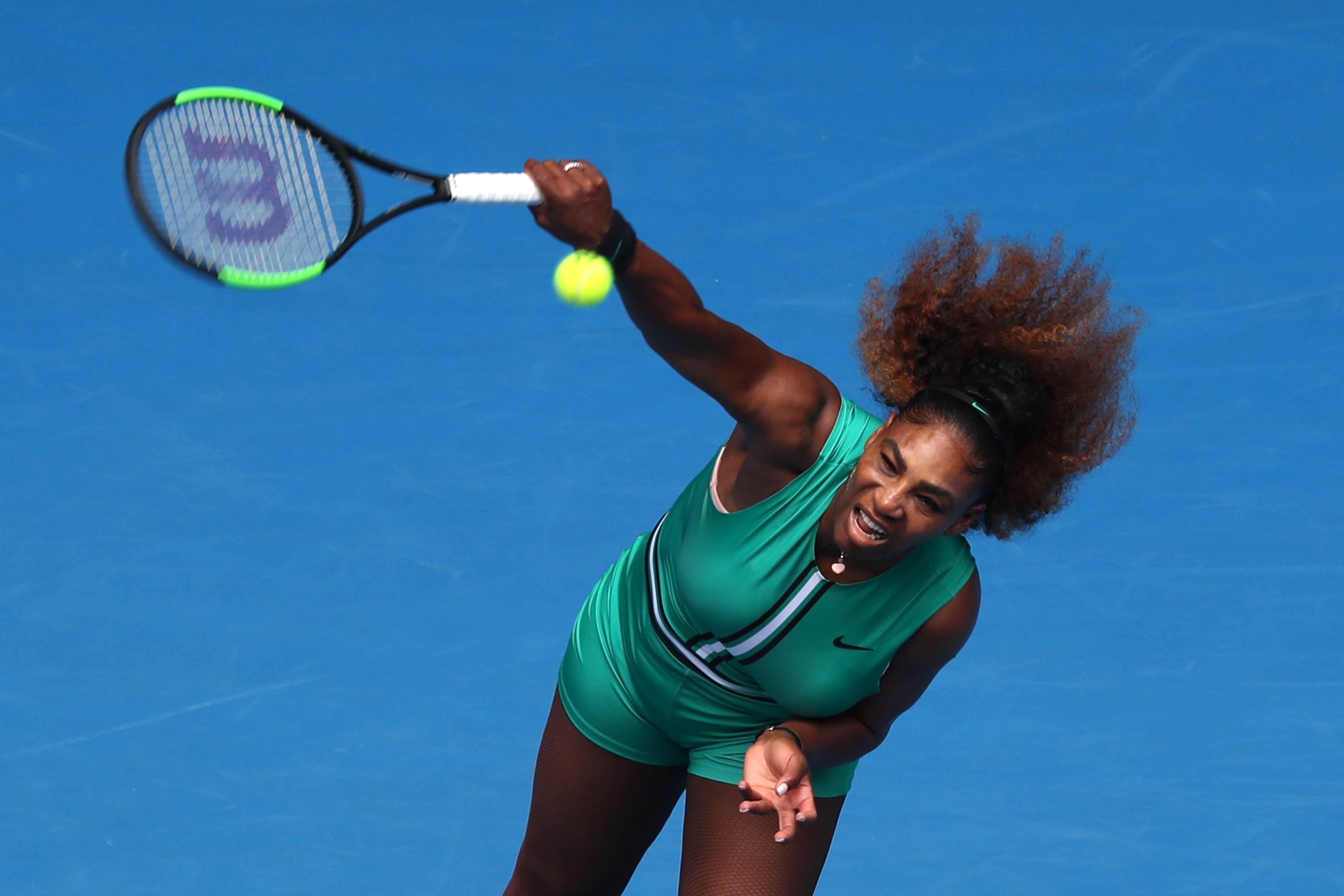 Serena Williams atropelou na estreia no Aberto da Austrália