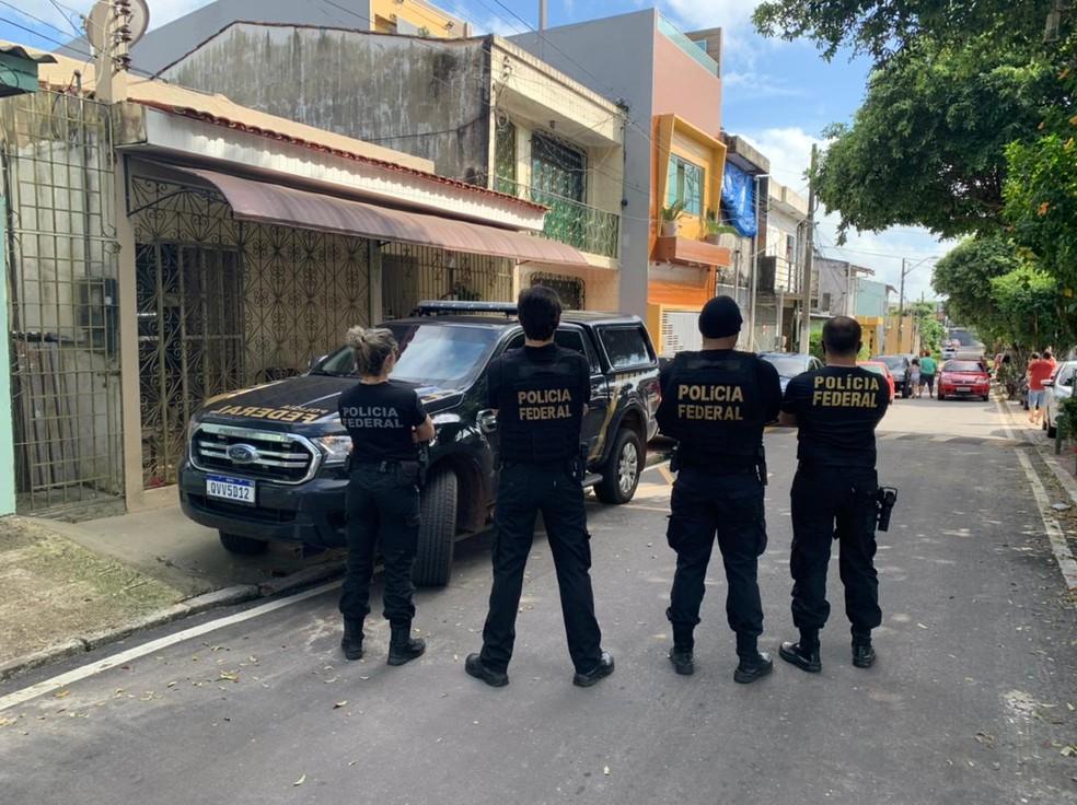 Operação Mapinguari, em Belém — Foto: Ascom/PF