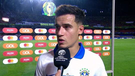 Brilho e timidez dão vida a um Coutinho, enfim, protagonista na seleção brasileira de Tite