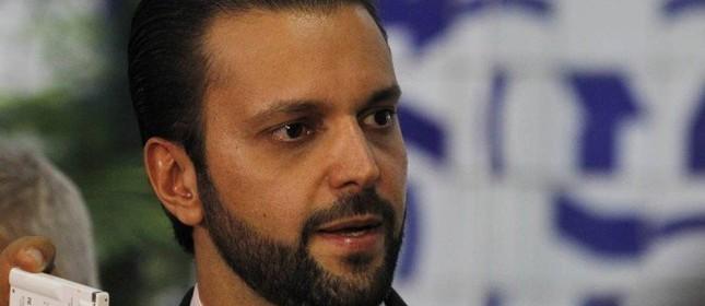 Alexandre Baldy é apadrinhado de Rodrigo Maia (Foto: Givaldo Barbosa / Agência O Globo  )