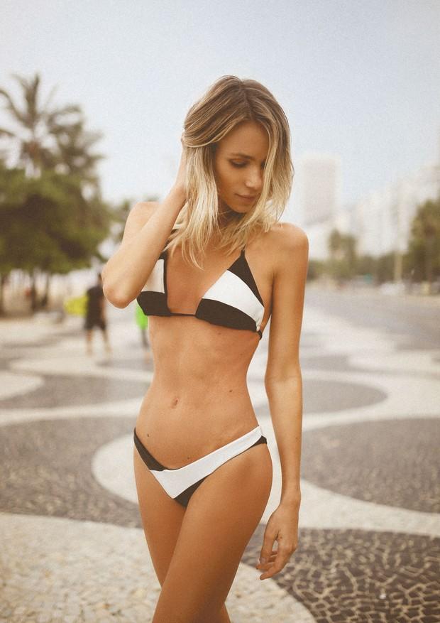 Elen Capri apresenta resort 2019 de sua marca de beachwear (Foto: Divulgação)